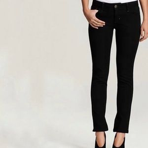 Dl1961 angel black ankle jeans size 30